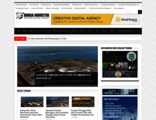 duniaindustri.com screenshot