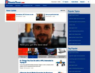 duniaphone.com screenshot