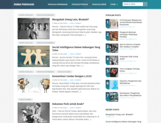 duniapsikologi.com screenshot