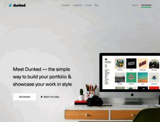 dunked.com screenshot