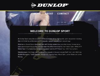 dunlopsport.com.au screenshot