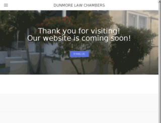 dunmorelawchambers.com screenshot