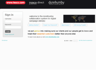 dunnhumbycreativedelivery.com screenshot