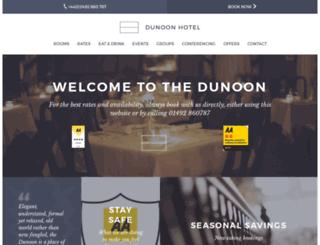 dunoonhotel.co.uk screenshot