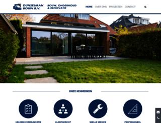 dunselmanbouw.nl screenshot