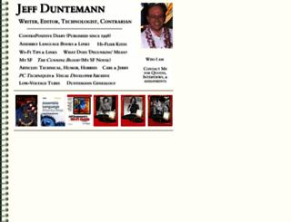 duntemann.com screenshot