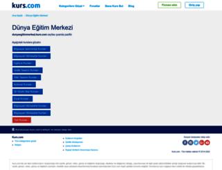 dunyaegitimmerkezi.kurs.com screenshot