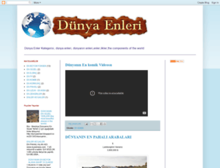dunyaenleri.blogspot.com.tr screenshot