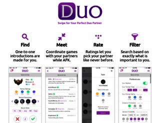 duoapp.launchrock.com screenshot