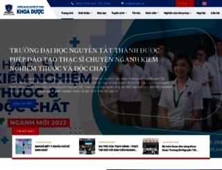 duoc.ntt.edu.vn screenshot