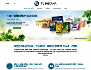 duocphucvinh.com screenshot