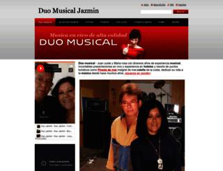 duosmusicales.webnode.es screenshot