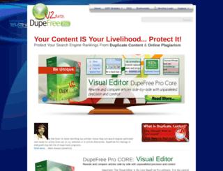 dupefreepro.com screenshot