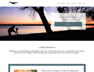 dupreyvideo.com screenshot