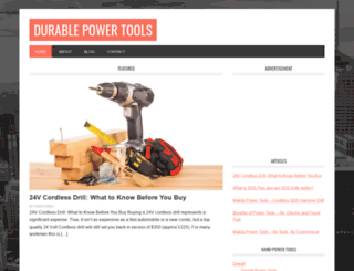 durablepowertools.com screenshot