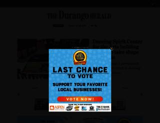 durangoherald.com screenshot