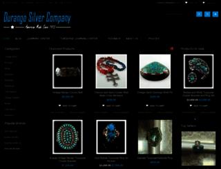 durangosilver.com screenshot