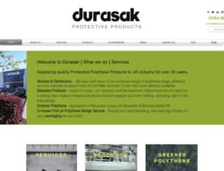 durasak.co.uk screenshot