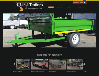 duratrailers.co.za screenshot