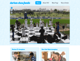 durbanchessclub.co.za screenshot