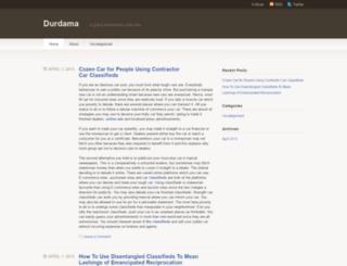 durdama.wordpress.com screenshot