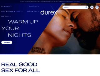 durexusa.com screenshot