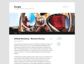 durgila.wordpress.com screenshot