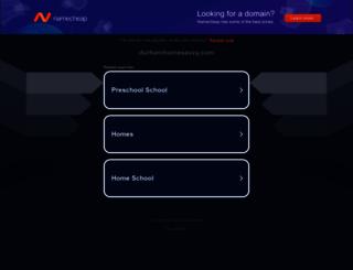 durhamhomesavvy.com screenshot