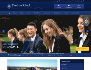 durhamschool.co.uk screenshot