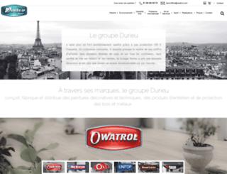 durieu.com screenshot