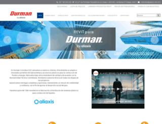 durman.com.co screenshot