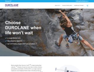 durolane.com screenshot