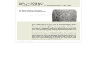 dursunozfirat.com screenshot