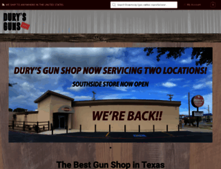 durysguns.com screenshot