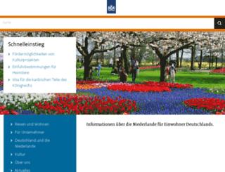 dus.niederlandeweb.de screenshot