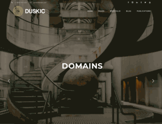duskic.com screenshot