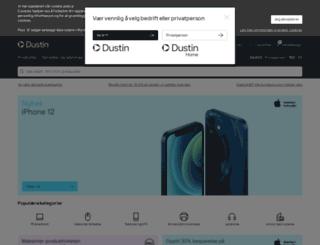 dustin.no screenshot