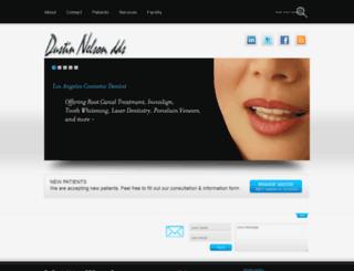 dustinnelson.com screenshot