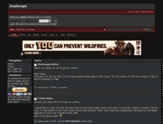 dustscape2.smfforfree2.com screenshot