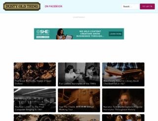 dustyoldthing.com screenshot