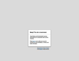 dustyrebelsandthebombshells.co.za screenshot