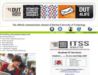 dut4life.dut.ac.za screenshot