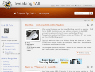 dutch.tweaking4all.com screenshot