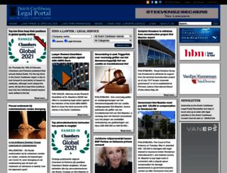 dutchcaribbeanlegalportal.com screenshot