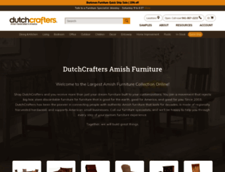 dutchcrafters.com screenshot