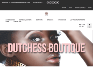 dutchessboutiquetn.com screenshot