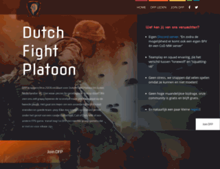 dutchfightplatoon.com screenshot