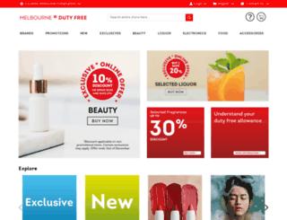 dutyfree.com.au screenshot