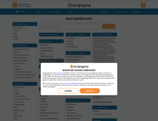 duurzaambouwen.pagina.nl screenshot