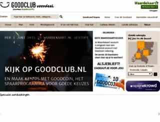 duurzamewaardekaart.nl screenshot